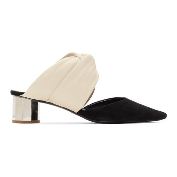 Proenza Schouler Off-White & Black Crisscross Heels