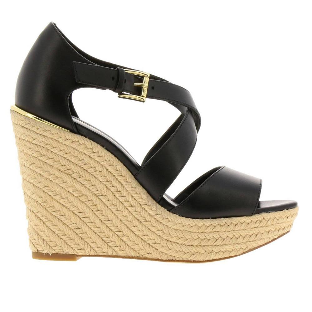 Michael Michael Kors Wedge Shoes Shoes Women Michael Michael Kors in black