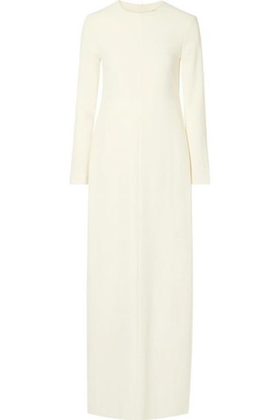 The Row - Alloy Crepe Maxi Dress - Ivory