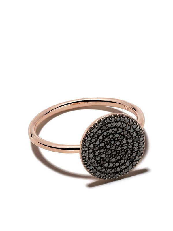 Astley Clarke Icon diamond ring in black