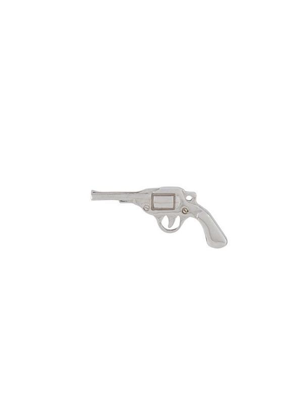 True Rocks pistol stud single earring in silver