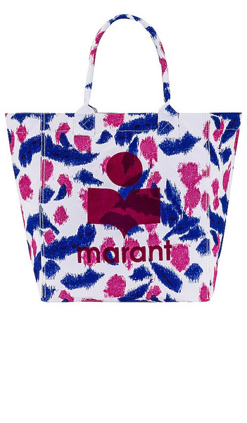 Isabel Marant Yenky Tote in Pink in white