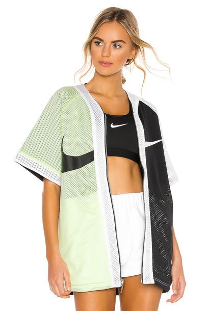 Nike Performance AIR TANK- Top luminous green/black