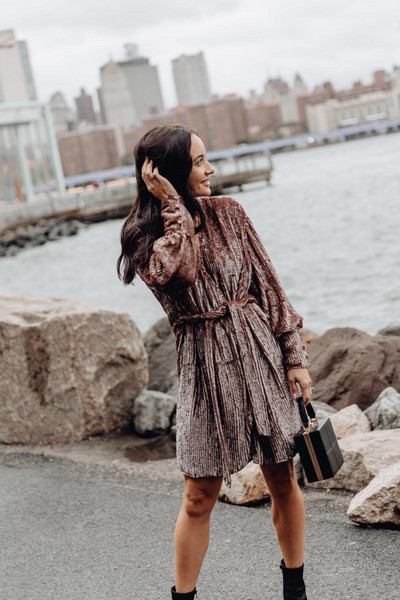 outfits&outings blogger dress shoes bag