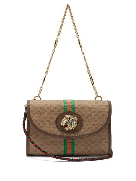 Gucci - Small Rajah Gg Supreme Cross Body Bag - Womens - Beige Multi