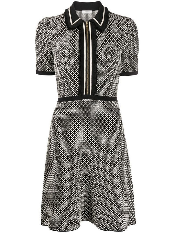 Sandro Paris fitted dress in black