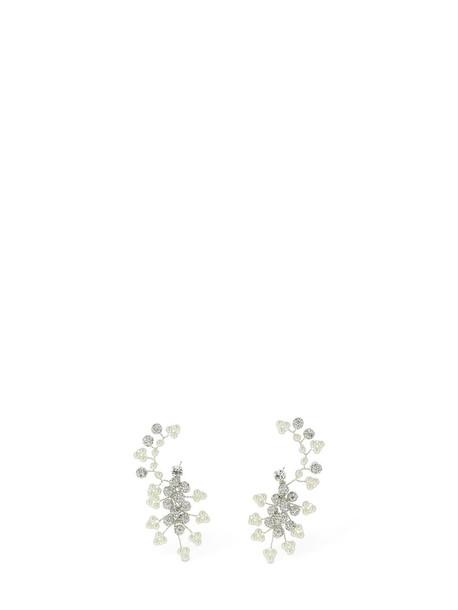 MAGDA BUTRYM Anemone Brass Ear Jacket Earrings