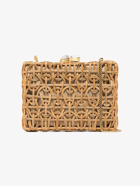 Aranáz Brown Chloé medium woven bag