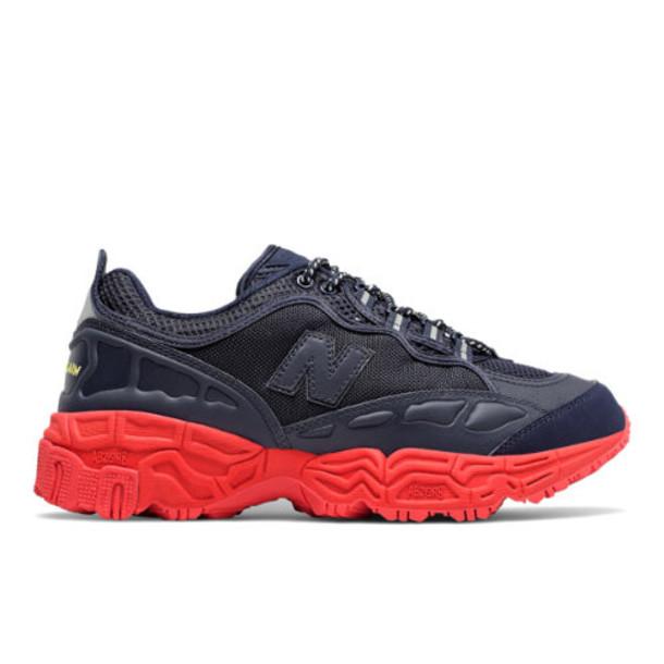 Herschel x New Balance 801 Men's Running Classics Shoes - Blue/Red (ML801HXB)