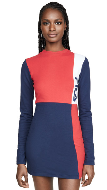 Fila Ophelia Dress in red / white