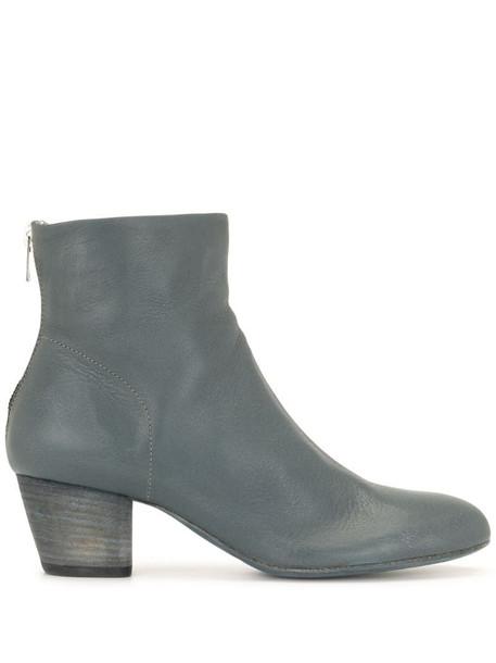 Officine Creative Jeannine mid-heel boots in blue
