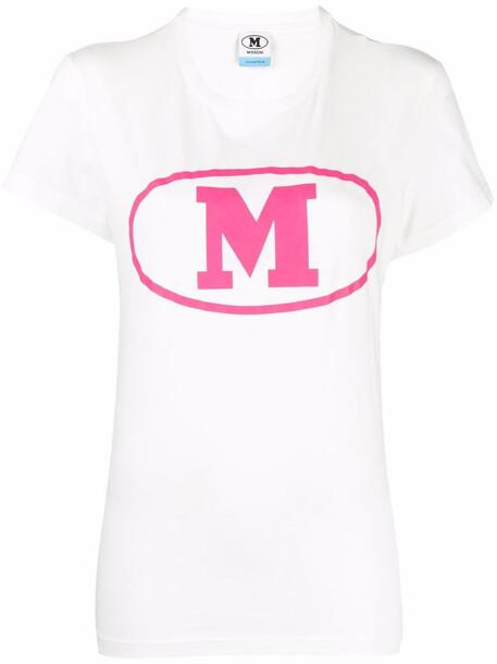 M Missoni logo-print T-shirt - White