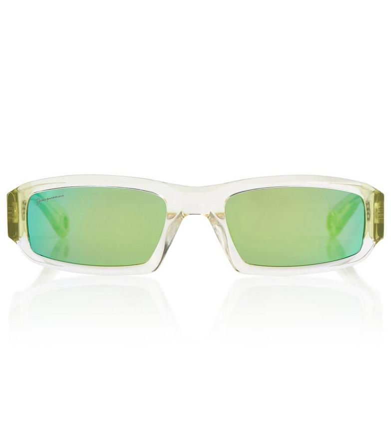 Jacquemus Altù multicolor sunglasses in green