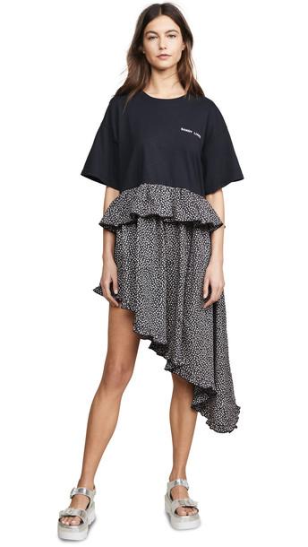 Sandy Liang Four Dress in black