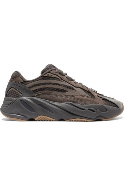 adidas Originals - Yeezy Boost 700 V2 Suede And Mesh Sneakers - Taupe