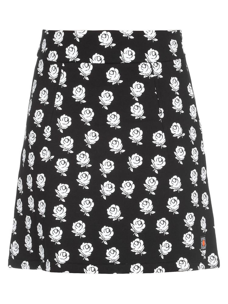 Kenzo Cotton Skirt in black