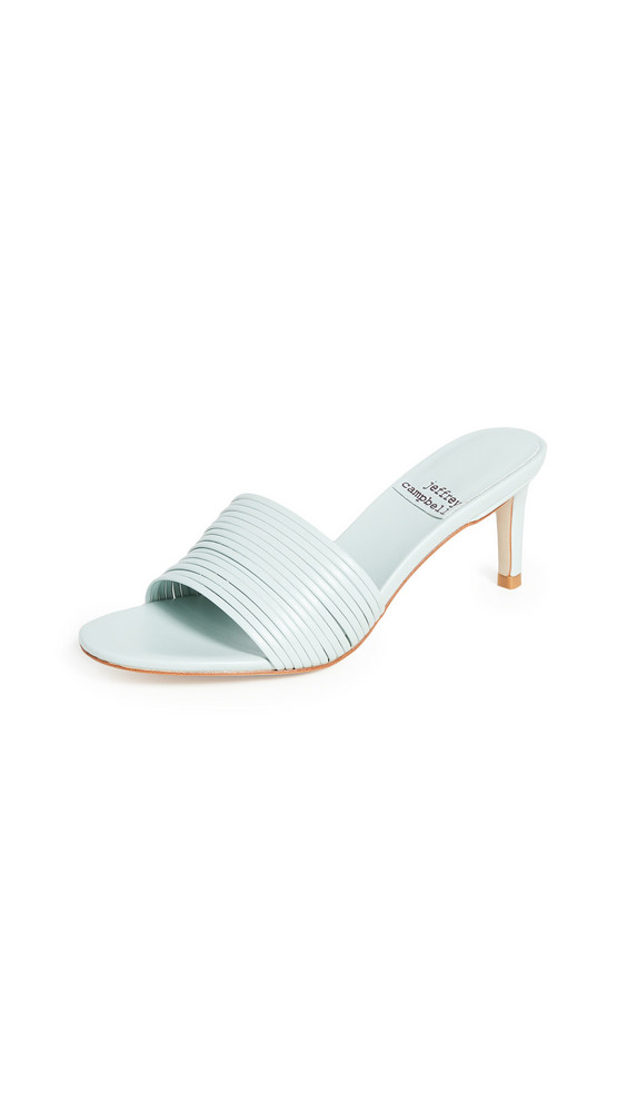 Jeffrey Campbell Kacey Mules in blue