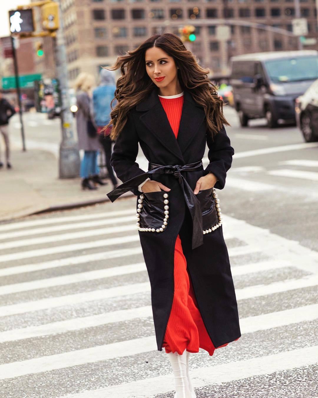 dress maxi dress red dress white boots black coat long coat