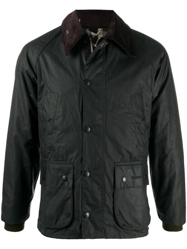 Barbour Bedale multiple-pocket jacket in green