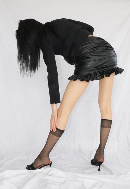 Orseund Iris CHA CHA SKIRT BLACK
