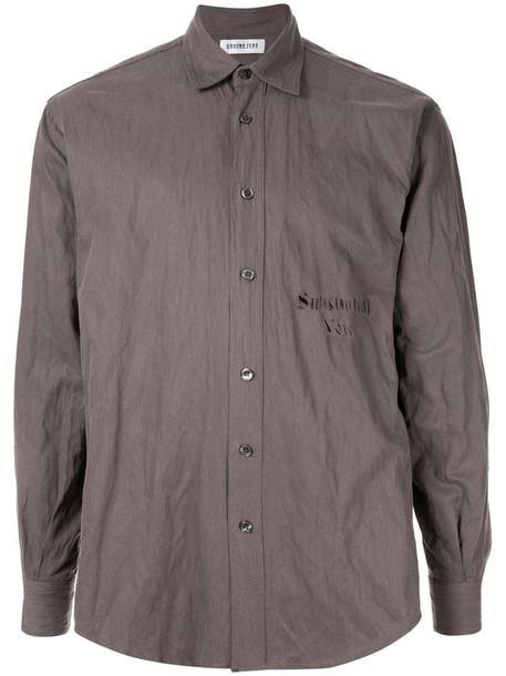 Ground Zero Substantial Void shirt in grey