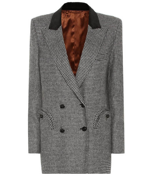 Blazé Milano Kismet Everyday wool blazer in grey