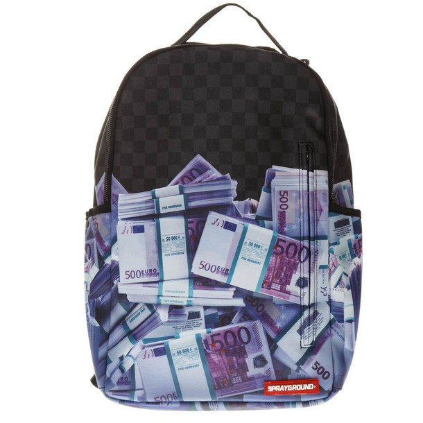 Sprayground Euro Money Stacks Backpack in black