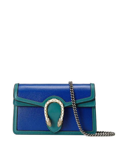Gucci super mini Dionysus crossbody bag - Blue