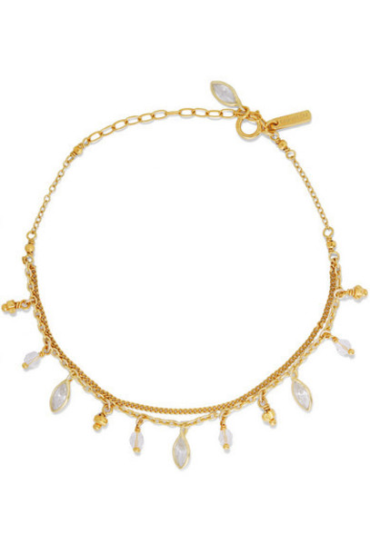 Chan Luu - Gold-plated Swarovski Crystal Bracelet