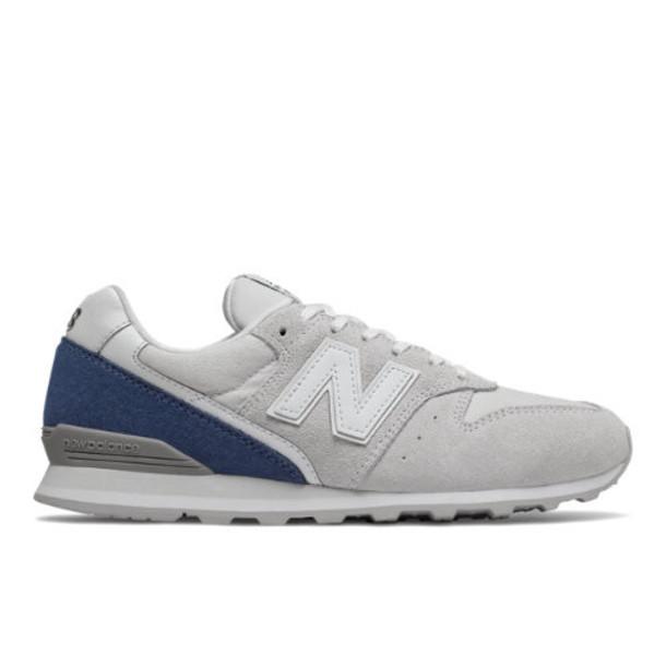 New Balance 996 Women's Running Classics Shoes - Grey/Blue (WL996BB)