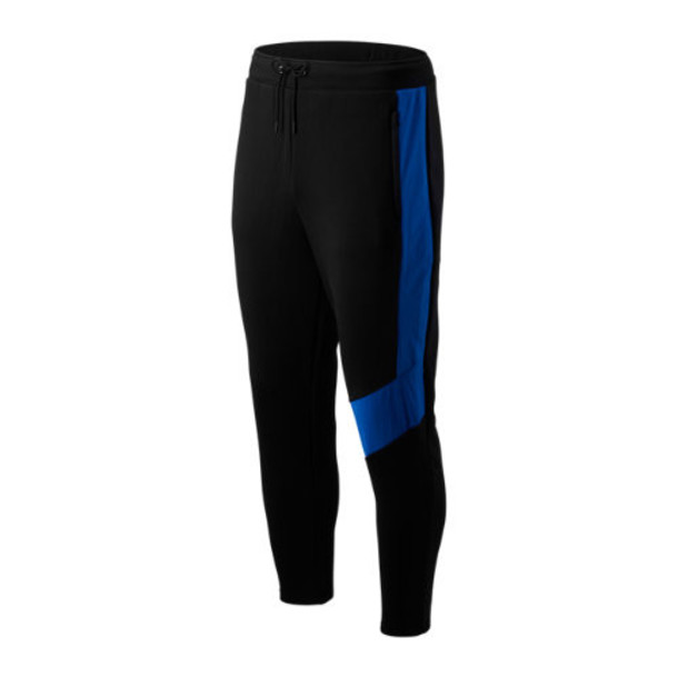 New Balance 93505 Men's Sport Style Optiks Track Pant - Black/Pink/Blue (MP93505BM)