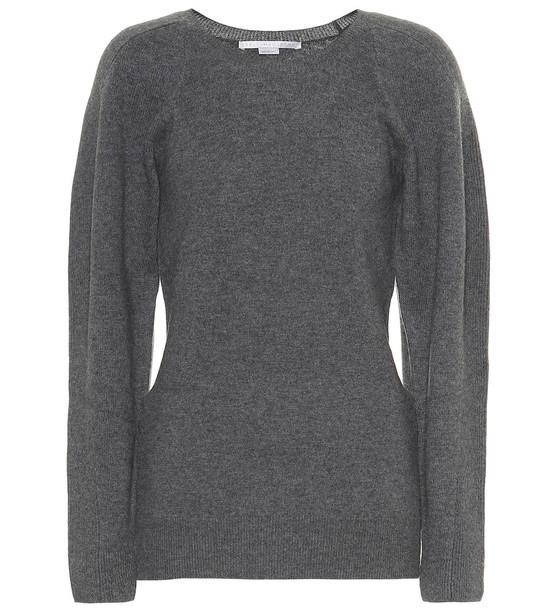 Stella McCartney Virgin wool sweater in grey
