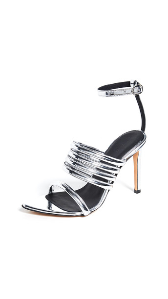 IRO Liv Sandals in silver