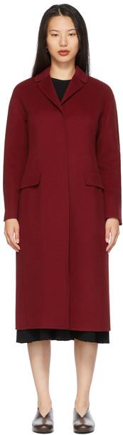S Max Mara Red Beauty Coat