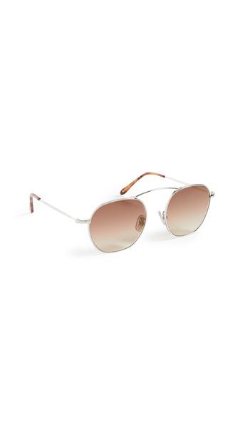 Illesteva Bowery Sunglasses in gold / silver