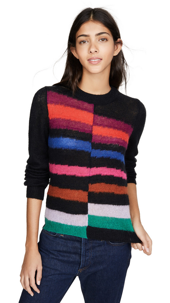 Paul Smith Striped Sweater in black