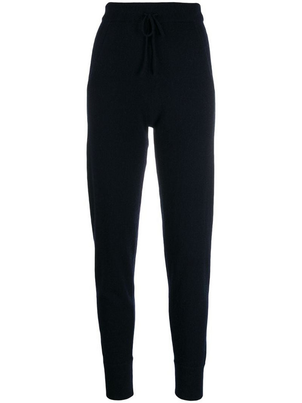 N.Peal lounge knitted trousers in blue