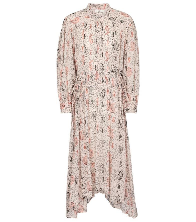 Isabel Marant, Étoile Ariana paisley cotton midi dress in beige