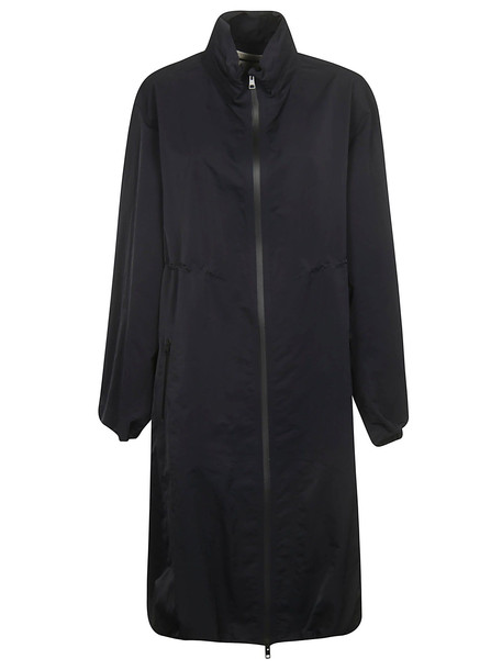 Bottega Veneta Tech Long Jacket in nero
