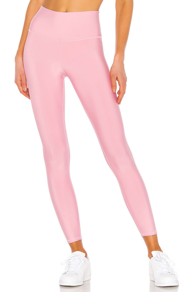 alo 7/8 High Waist Airlift Legging in pink