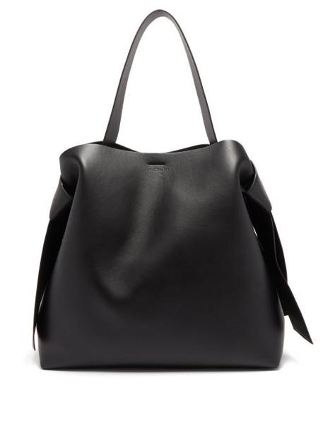 Acne Studios - Musubi Large Leather Tote Bag - Womens - Black