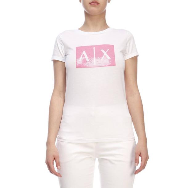 Armani Collezioni Armani Exchange T-shirt T-shirt Women Armani Exchange in fuchsia