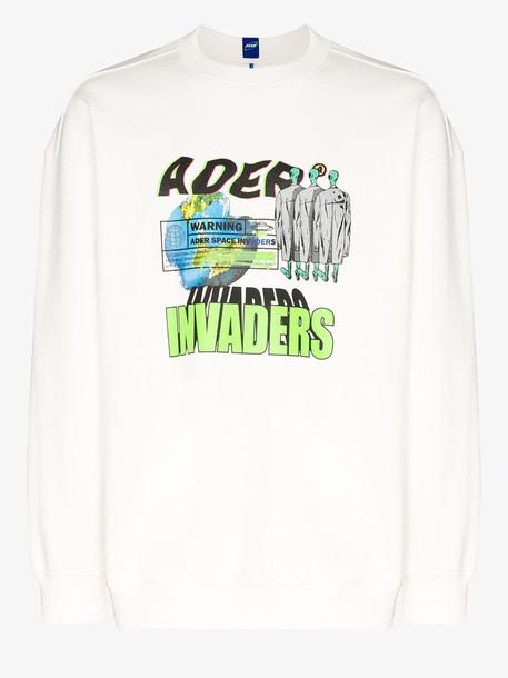 Ader Error invaders graphic print sweatshirt