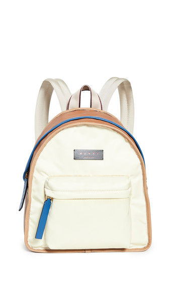 Marni Reversible Backpack in white