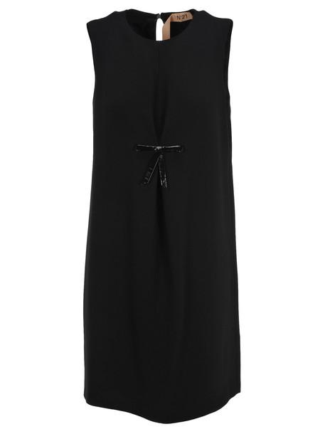 N.21 N21 Bow Detail Dress in black