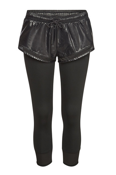 Adidas by Stella McCartney Performance Essentials Leggings with Shorts  in black