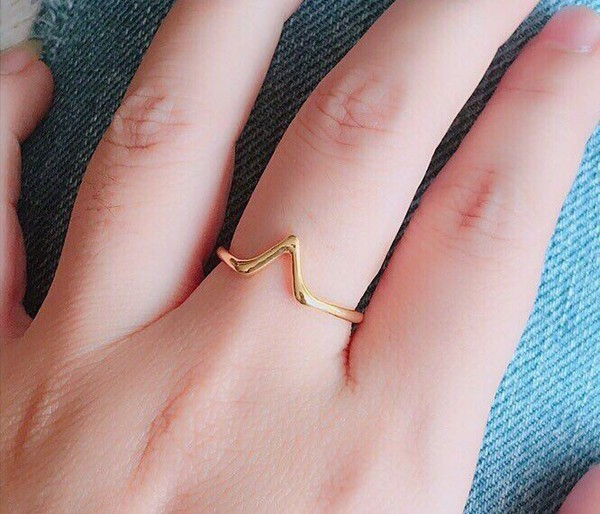 jewels gold ring silver ring jewelry jewelry handmade delicate ring cute ring minimalist jewelry mothers day gift idea