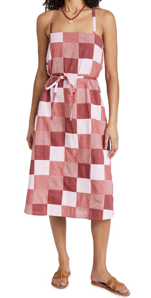 Warm Pipeline Dress in pink / multi