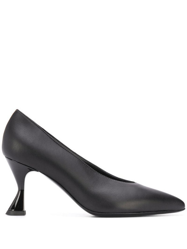 Pollini pointed toe pumps in black