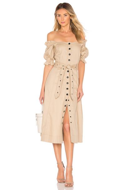 Marissa Webb Charlize Dress in neutral
